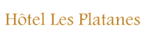 HOTEL LES PLATANES Logo 2